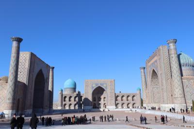 ウズベキスタン3泊6日の旅①