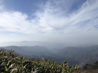 日本海へ蟹たらふく食べ翌日氷ノ山登山!