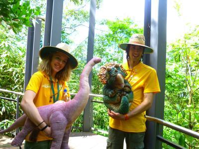 カンタス航空でシドニーへ  ⑥タロンガ動物園 その1