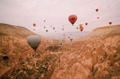 2018年11月トルコ周遊10日間 8、9、10日目 絶景フライトと恐怖のハイキング、帰国の途へ