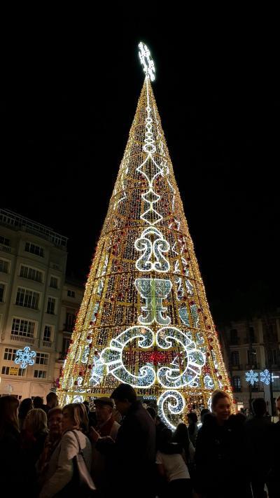 光降るマラガの夜 クリスマス
