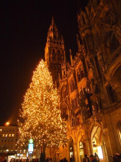 クリスマスマーケット①ミュンヘン