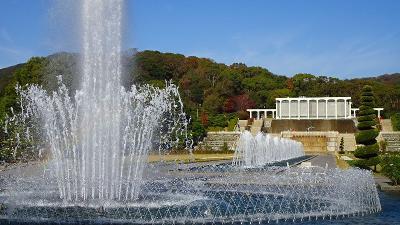 紅葉真っ只中の須磨浦離宮公園 その5完。