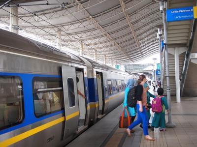 マレーシア旅行記③イポーへ日帰りマレー鉄道の旅1(アジアで行くべき町トップ10入り)