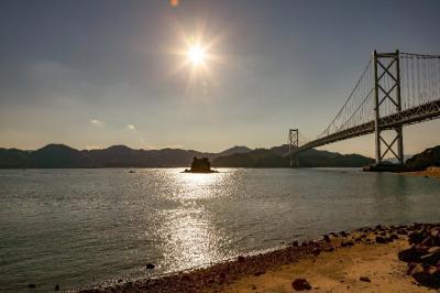 しまなみ海道  因島大橋ウォーキング