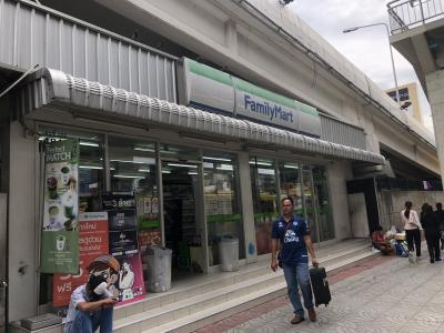 ドンムアン空港から最短のコンビニ