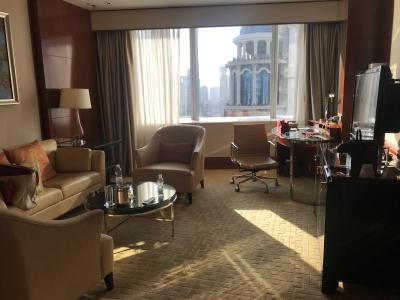 4回目の上海 マリオットシティセンターホテルスィート 今年6回目の海外