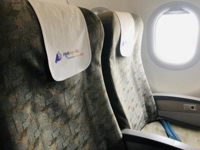 カンボジアアンコール航空でシェムリアップへ