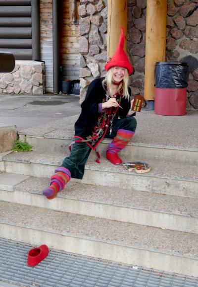 2018.9フィンランド職員旅行8-Rovaniemiへ,Joulupukinpajakyla(サンタ村),スーパーにもう一度寄る
