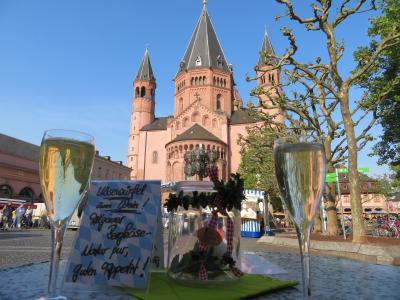 心の安らぎ旅行(2018年 春 Mainz マインツ Part20 Wochenmarkt ヴォッヘンマルクト♪)