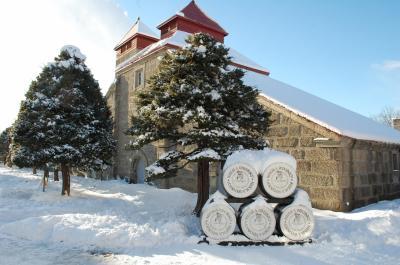 冬・北海道!余市・小樽・ノーザンホースパークへ1泊2日の旅、その1(ニッカウヰスキー余市蒸留所の美しい雪景色)