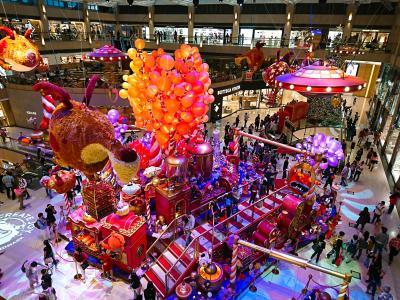 香港★クリスマス2018 ココアモンスターのクリスマス と 大きなクリスマスツリー ~The Landmark・The Statue Square~