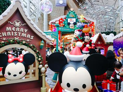 香港★クリスマス2018 ディズニーツムツムクリスマスマーケット ~Langham Place~