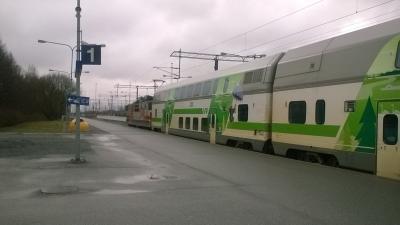 フィンランド国鉄(VR)でポリからタンペレへ