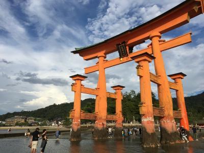 【ひとり旅】1日目:宮島の厳島神社に行ってきました!(2018.8.31)