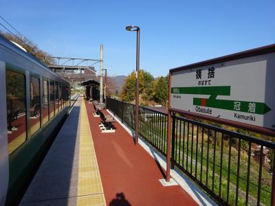 大糸線に乗りたくなって出かけてきた【その1】 リゾートビューふるさと① 篠ノ井線を行く