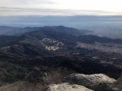 筑波山(女体山~男体山)登山
