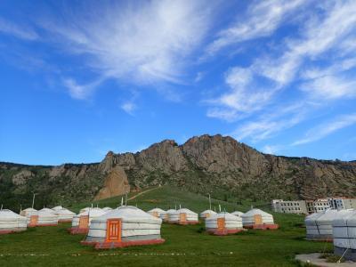 草原の生活@モンゴル