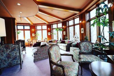 「金谷ホテル」閑散期で、安く泊まる事が出来ました♪