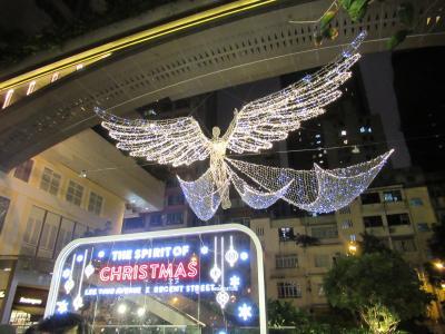 足まめ母娘の香港2人旅 10回目 クリスマスイルミネーション編