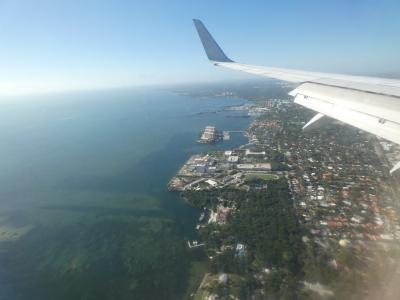 フロリダ マイアミへ (from Kingston, Jamaica to Miami, Florida, U.S.A.)