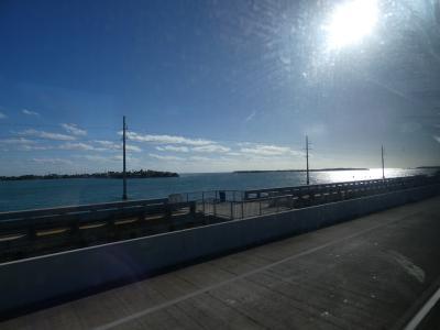 フロリダ セブンマイルブリッジへ (from Miami to Seven Mile Bridge, Florida)