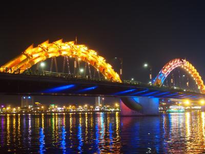 中部ベトナムの中心都市のダナン