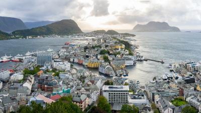 2018秋 ノルウェー沿岸急行船 往復の旅 2日目:オーレスン~ヨールンフィヨルド