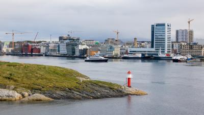 2018秋 ノルウェー沿岸急行船 往復の旅 4日目:北極圏突入~ボードー