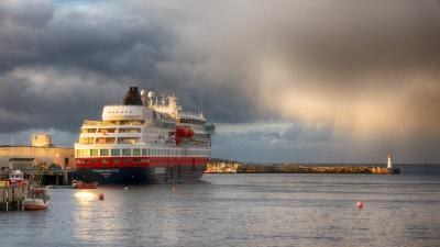 2018秋 ノルウェー沿岸急行船 往復の旅 7日目:キルケネス折り返し