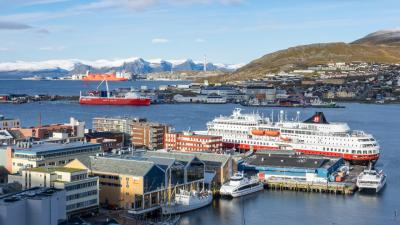 2018秋 ノルウェー沿岸急行船 往復の旅 8日目:ハンメルフェスト~トロムソ