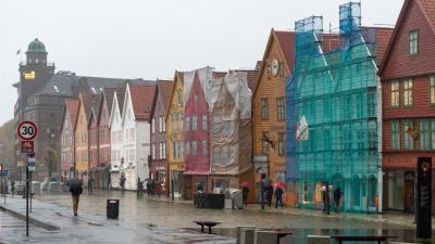 2018秋 ノルウェー沿岸急行船 往復の旅 12日目:ベルゲン帰還