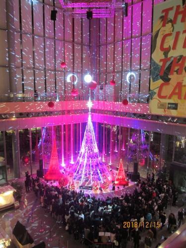 東京丸の内のブライトクリスマス・2018年12月