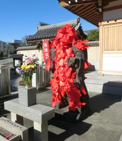 東京文学・歴史散歩24。田端文士村を歩く、その2:赤紙不動東覚寺から大龍寺に子規の墓を訪ね田端駅まで。