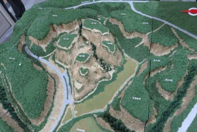 2018暮、九州南東部の続百名城巡り(2/20):12月7日(2):知覧城(2):ミュージアム知覧、知覧城模型
