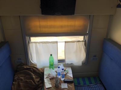 ブハラからヒヴァ、一等寝台車でウルゲンチ、そしてヒヴァへ。