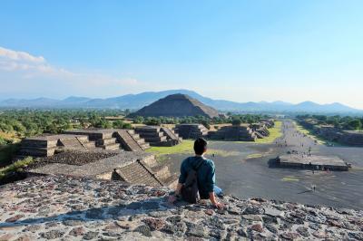 【2018海外】2泊4日でメキシコシティ&バンクーバー #02 ~世界遺産 テオティワカンのピラミッドへ~
