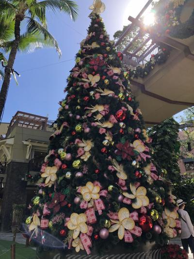 2018/12月のハワイぼっち旅④ショッピングとツリー
