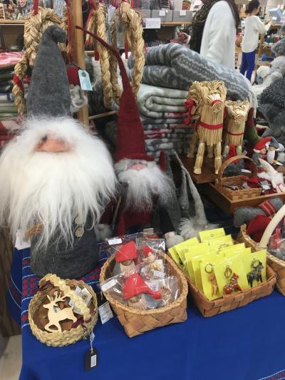 今年もタカシマヤ北欧展からのクリスマスマーケット