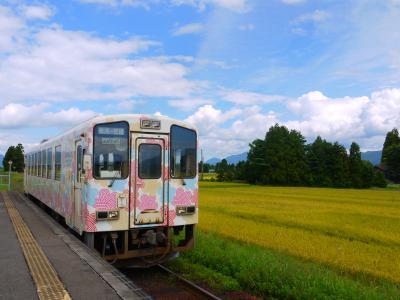 2018・9月は新潟に集合・・・したけど次の日は山形だ! ②2日目は新潟から日帰り鉄道旅。米坂線と山形鉄道フラワー長井線(前編)