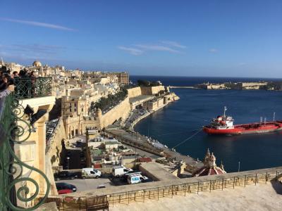 地中海に浮かぶ世界遺産の国マルタ島6日間(首都バレッタ)
