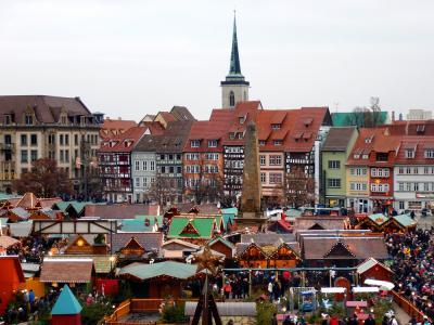 独クリスマスマーケット巡り(1):ライプツィヒ、エアフルト