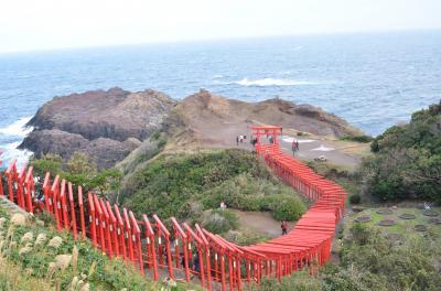 長崎・佐世保の代わりに「山口が魅せる12の風景ツアー」で山口に行って来ました(元乃隅稲荷・角島・秋吉台編)