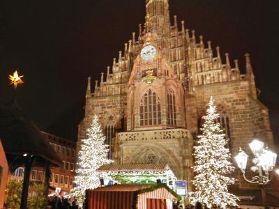 独クリスマスマーケット巡り(2):バンベルク、エアランゲン、ニュルンベルク