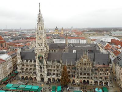 2018 遅い遅い夏休みはドイツ・ミュンヘンのクリスマスマーケットへ。日曜日の観光午後編。