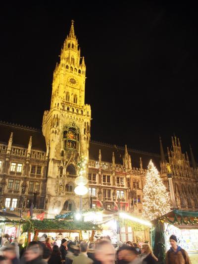 2018年12月 南ドイツ クリスマスマーケット巡りと観光