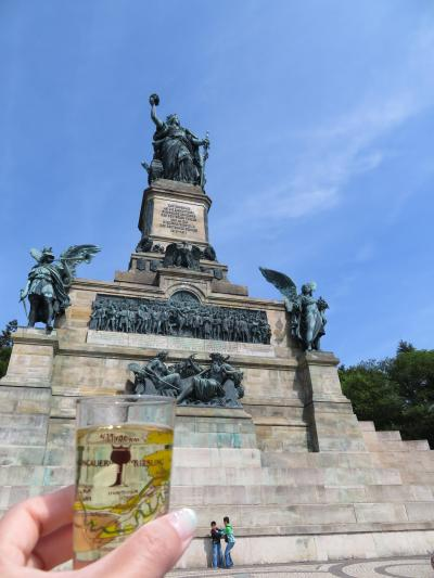 心の安らぎ旅行(2018年 春 Rudesheim am Rhein リューデスハイム Part3 Niederwalddenkmal ニーダーヴァルト記念碑♪)