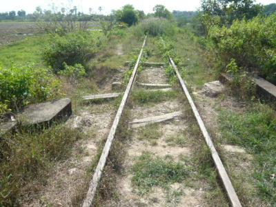 ミャンマーのダーウェー周辺の鉄道を見てきました。