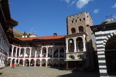 ブルガリア リラの修道院とソフィア