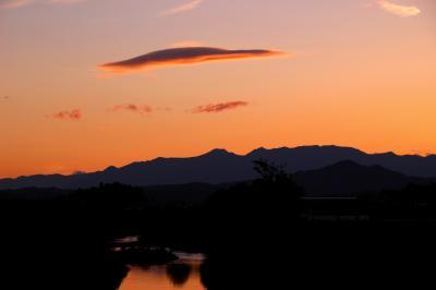 ◆初冬の那須連峰~夕景点描
